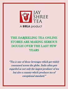 The Darjeeling tea online stores