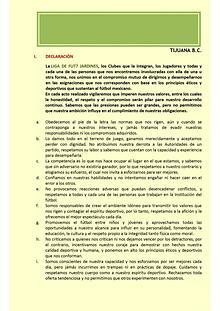 Reglamento LIGA FUT7 JARDINES Tijuana