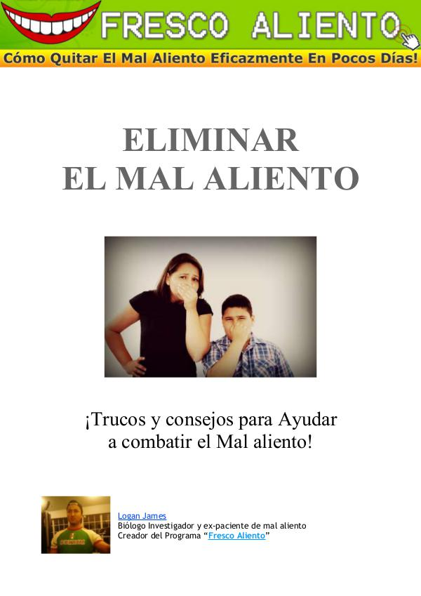 ⓈⒶⓁⓊⒹ » Libre De Mal Aliento PDF-Libro, Dra. Heliana Cova