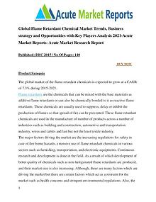 Global Flame Retardant Chemical Market Research Report