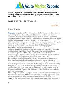 Global Polyolefins Market from Plastic Waste