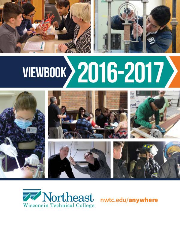 NWTC Viewbook 2016 2017 2016-17