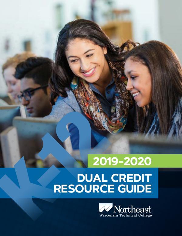 K12 Dual Credit Resource Guide 88671LSS 2019 Dual Credit Booklet_Blackboard 31119