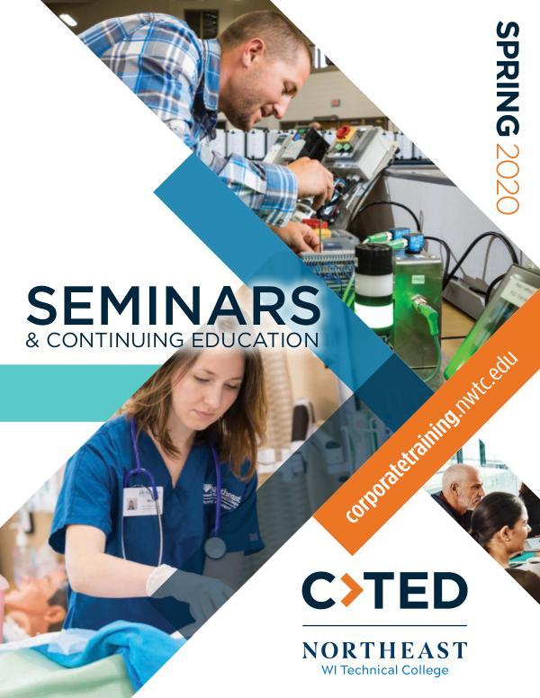 CTED Seminars & Continuing Education Spring 2020