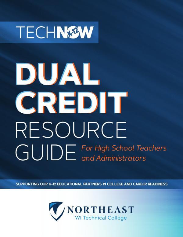 K12 Dual Credit Resource Guide 2020-2021