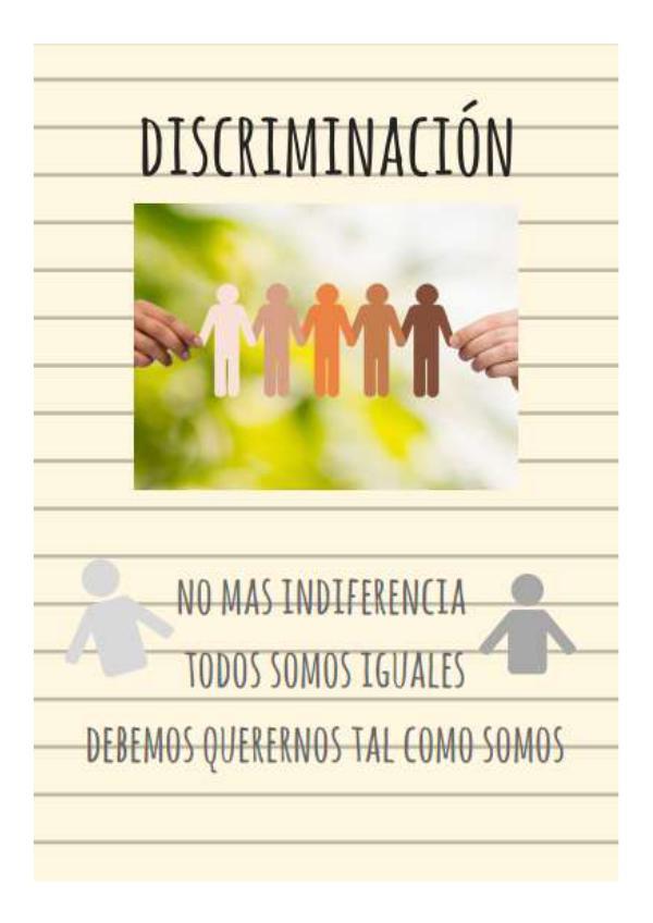 discriminacion discriminación