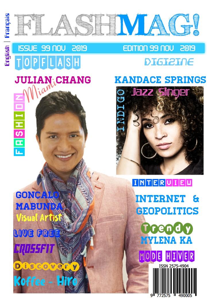Flashmag Digizine Edition Issue 99 November  2019