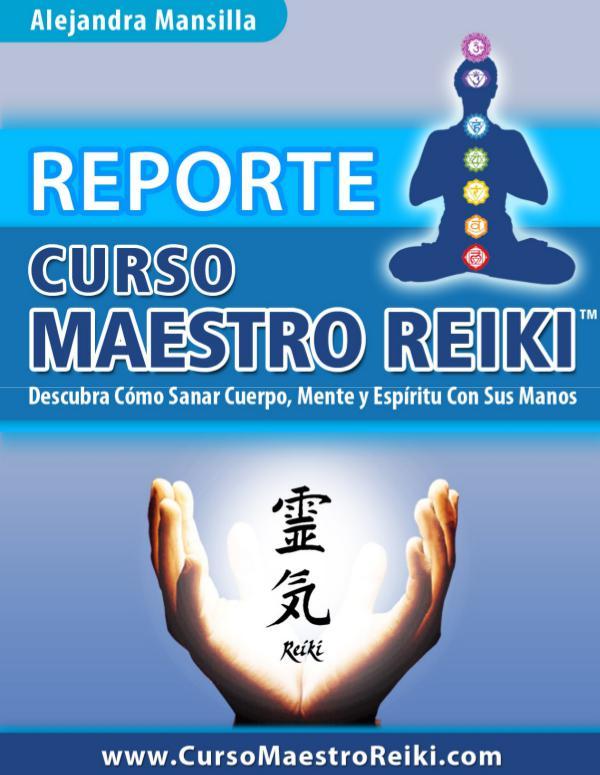 ⒺⓈ » Curso Maestro Reiki PDF-Libro, Alejandra Mansilla
