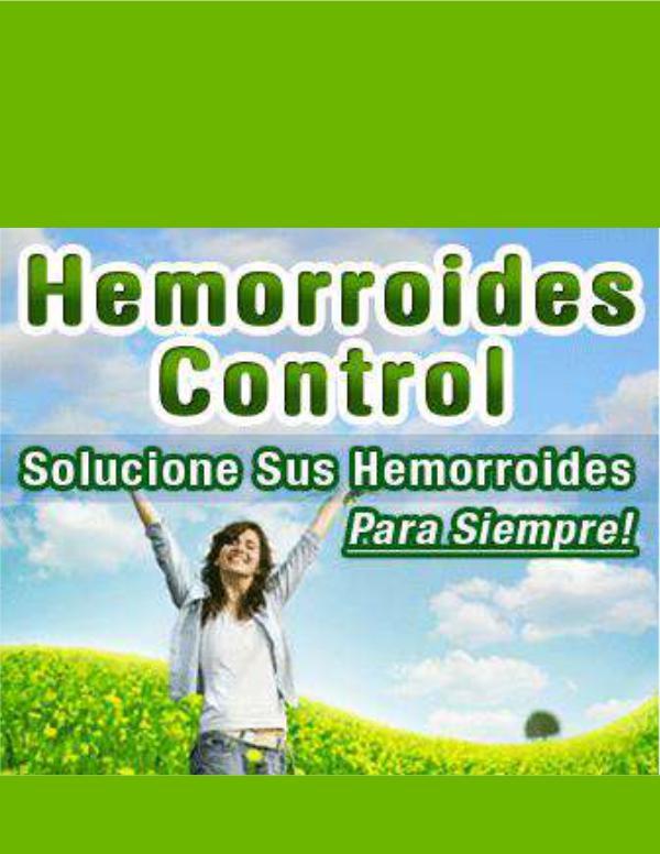 ⒺⓈ » Hemorroides Control PDF-Libro, Miguel Carretto