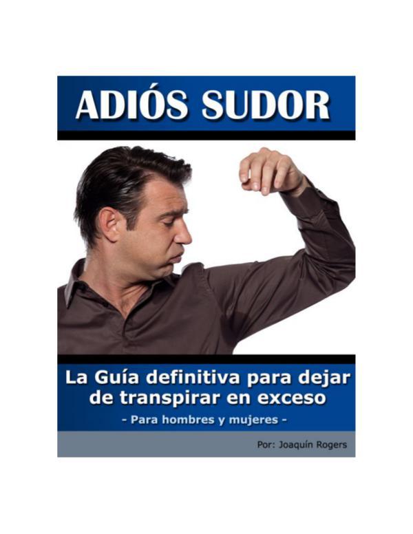 ⒺⓈ » Guía Diaria Para Curar La Hiperhidrosis PDF-Libro