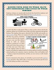 Riding Your Bike To Work -Have You Considered The Cycle To Work Schem