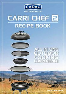 Cadac Skottel Braai Recipes @CYMOT