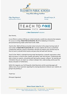 Teach To One, A New Classrooms Solution