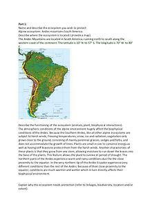 Ecosystem Case studies