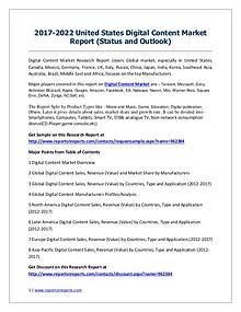 Digital Content Market Market 2012-2022 Global Key Manufacturers Anal
