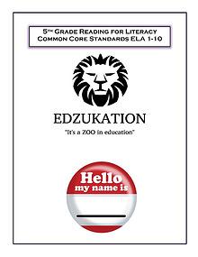5th Grade Common Core ELA