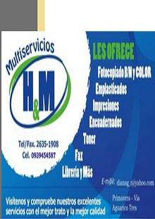 MULTISERVICIOS H&M