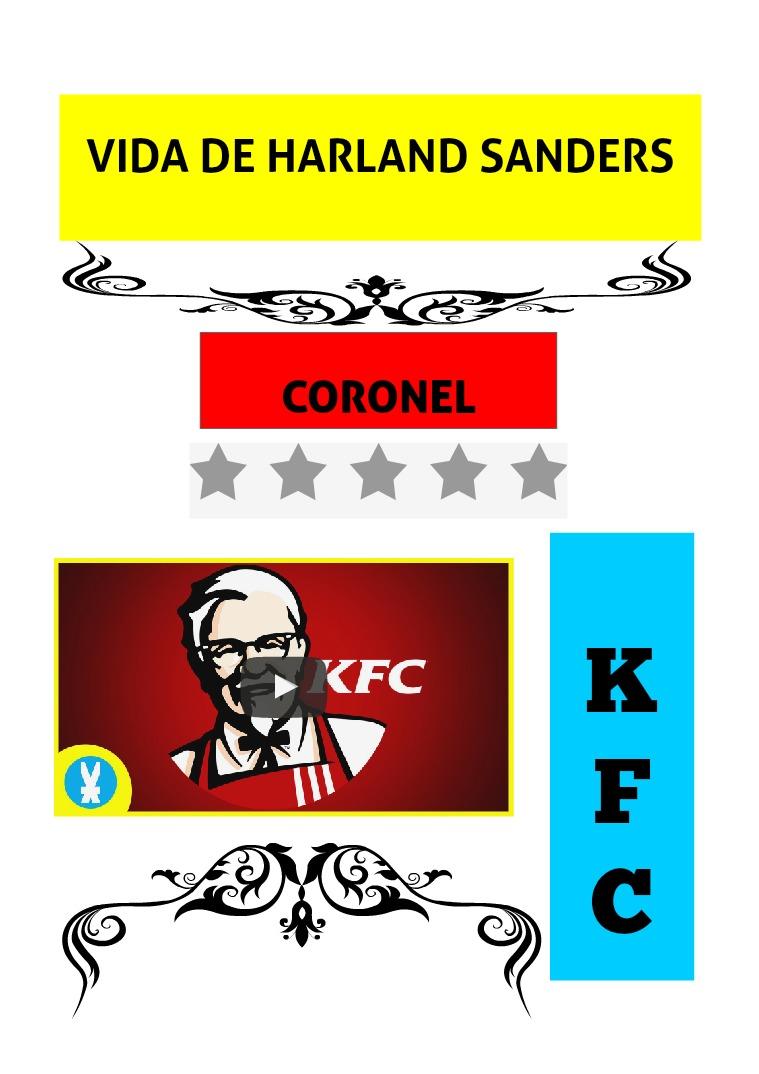 VIDA DE HARLAND SANDERS KFC