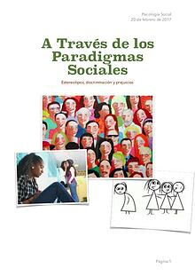 A través de los paradigmas sociales