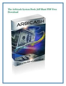 The Arbicash System PDF Free Download