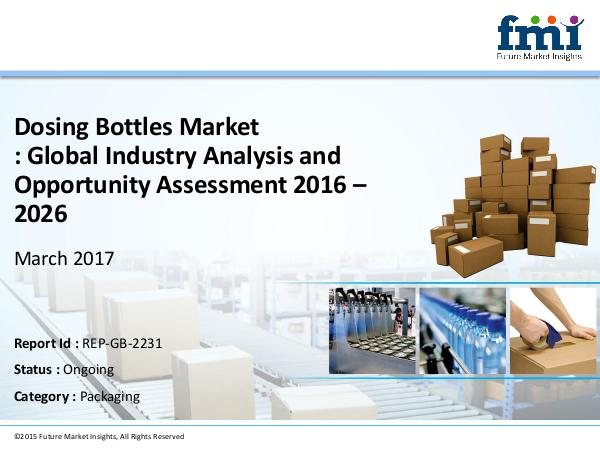 Market Intelligence Report Dosing Bottles, 2016-2026 Market Intelligence Report Dosing Bottles, 2016-20