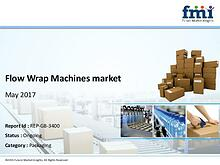 Flow Wrap Machines Market Set for Rapid Growth And Trend, by 2027