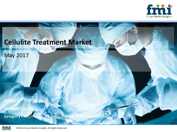 Cellulite Treatment Market Key Players, Growth, Analysis, 2017 – 2027 Cellulite Treatment  Healthcare