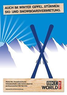 Ski- und Snowboardvermietung