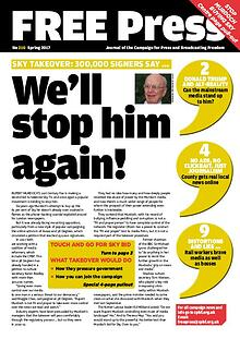 Campaign for Press and Brodcasting Freedom Stop Murdoch