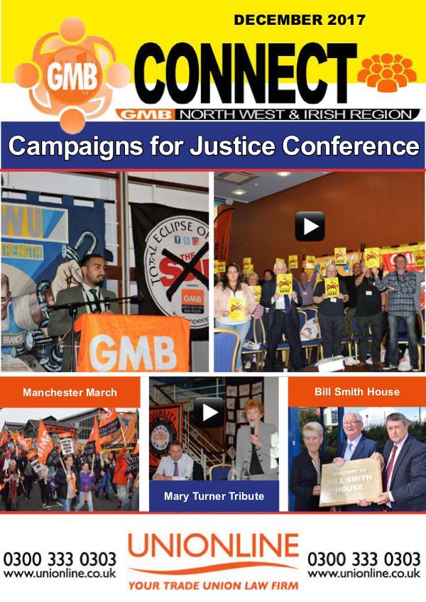 GMB Connect Magazine December 2017 December 2017