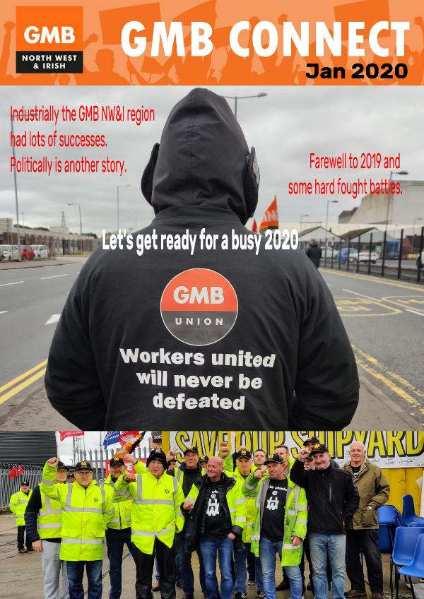 GMB North West and Irish Region Connect Magazine February 2020