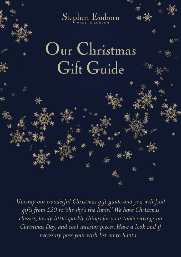 Stephen Einhorn Christmas Gift Guide - Mens & Womens Luxury Jewellery Stephen Einhorn