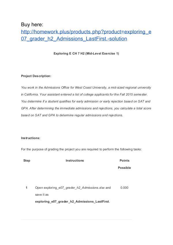 exploring_e07_grader_h2_Admissions_LastFirst. solution Homework