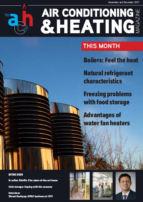 Air conditioning and heating magazine ACH November/December
