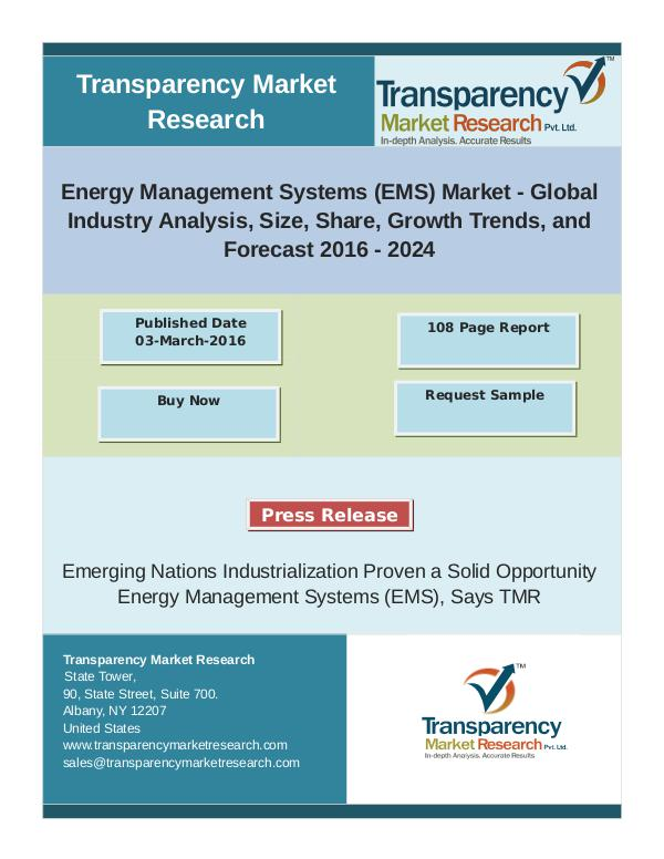 District Cooling Market: Latest Trends,Analysis & Insights 2024 Energy Management Systems Market: Latest Trends,An
