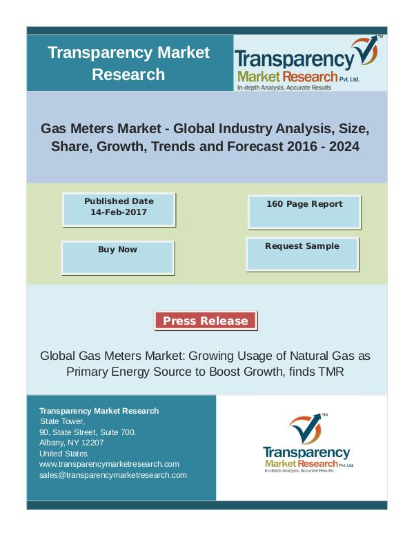 Gas Meters Market - Positive Long-Term Growth Outl