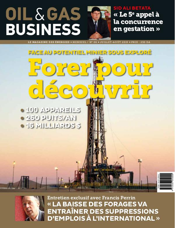 Oil&Gas Buisiness issue volume 6