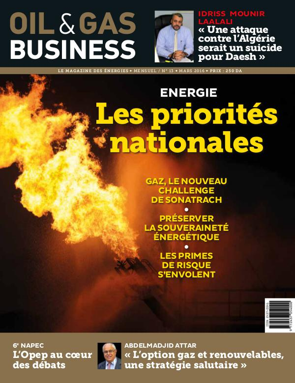 Oil&Gas Buisiness Issue Volume 13
