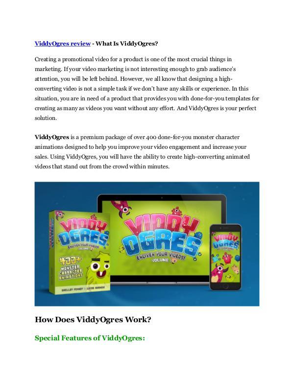 Marketing ViddyOgres Review and (MASSIVE) $23,800 BONUSES
