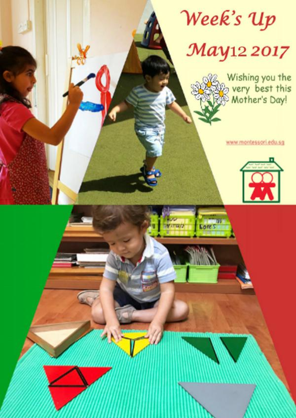 Week's Up for the week ending 12th May 2017 Montessori For Children (Broadrick Road)
