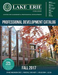 Fall 2017 Professional Development Catalog