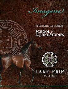 Imagine: The Campaign for Lake Erie College School of Equine Studies