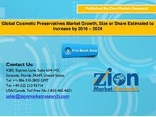 Global Cosmetic Preservatives Market Growth, Size or Share Estimated