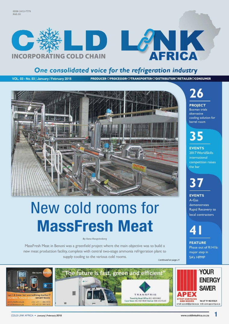 Cold Link Africa January/February 2018