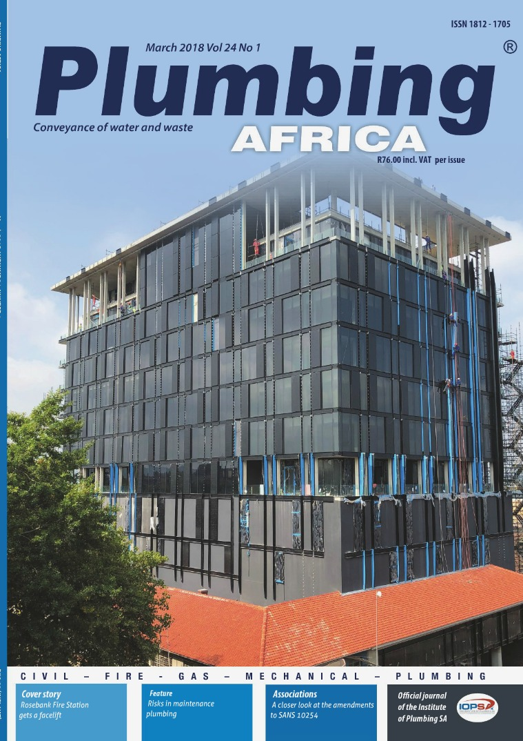 Plumbing Africa March 2018