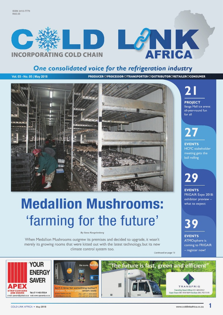 Cold Link Africa May 2018