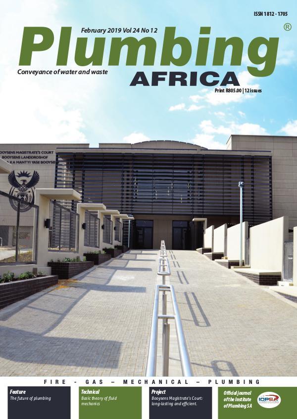 Plumbing Africa February 2019