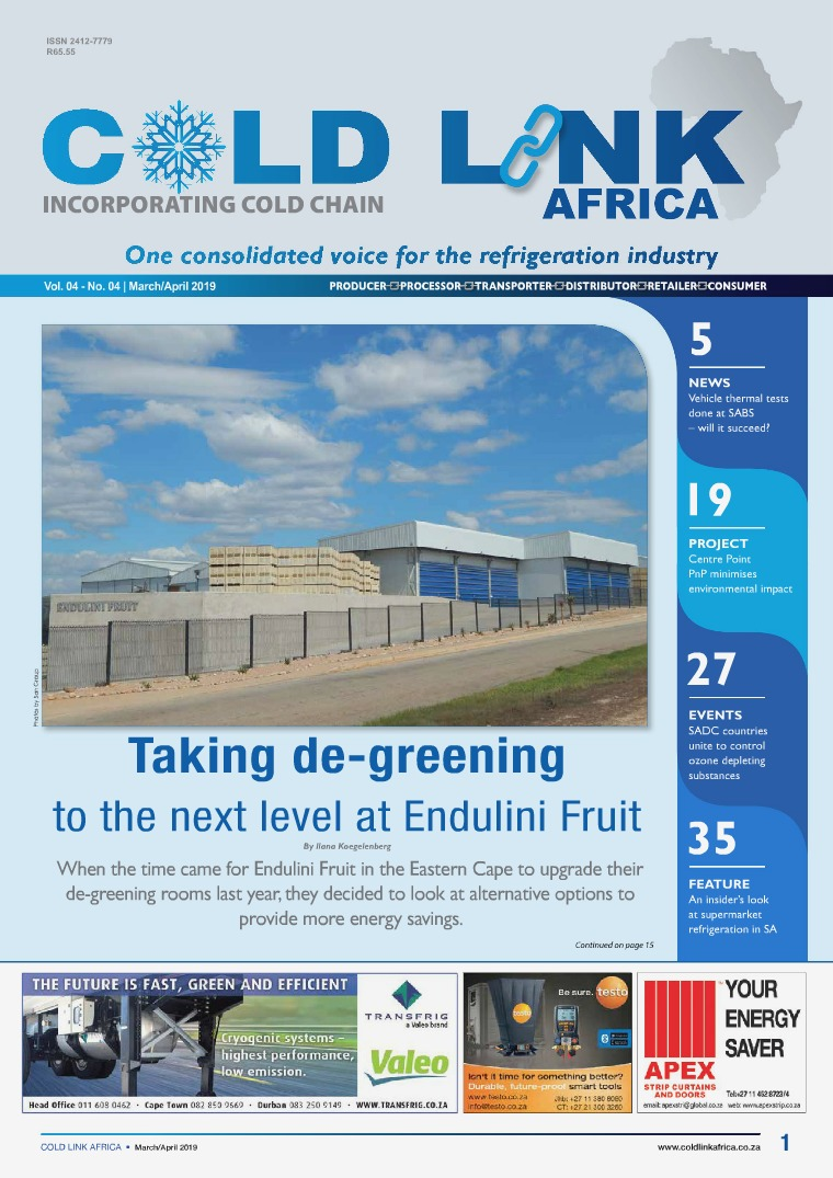 Cold Link Africa March/April 2019