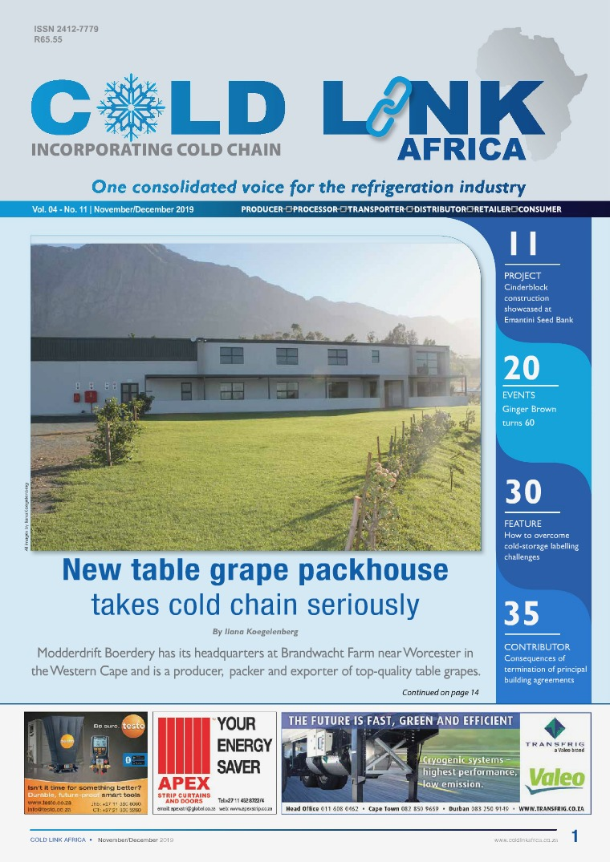 Cold Link Africa November / December 2019