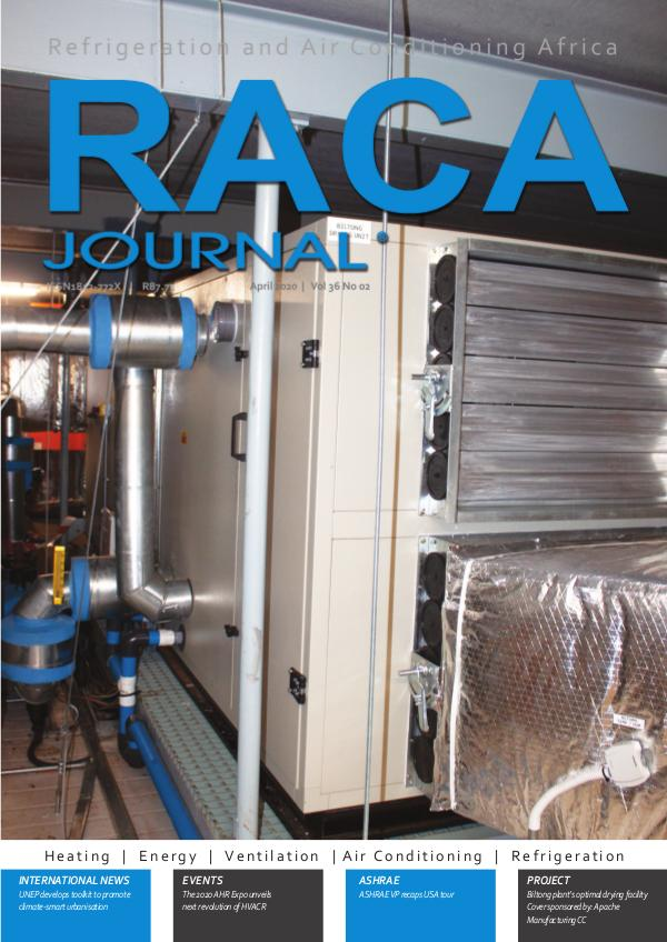 RACA Journal April 2020